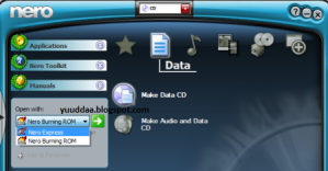 Cara Burning CD, DVD Menggunakan Nero